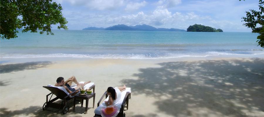 se détendre sur des plages